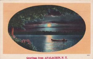 New York Greetings From Apalachin 1950