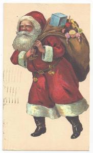 Christmas Santa Sack of Toys 1978 Modern Evergreen Press
