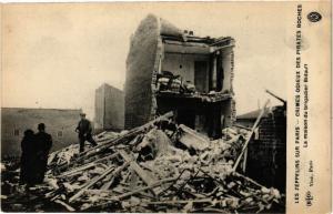 CPA AK LES ZEPPELINS SUR PARIS La Maison du Brigadier Bidault (193103)