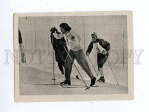 166970 VII Olympic SIIRI RANTANEN Finland skier CIGARETTE card