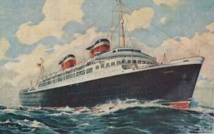 United States Lines S. S. AMERICA, Queen of the American Merchant Marine