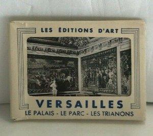 Vintage Les Editions D'art Versailles France RPPC Photo Book - 20 3 x 4