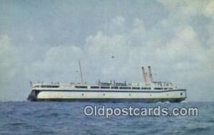 The SS Del Mar Va, Norfolk, Virginia, VA USA Ferry Ship Postcard Post Card  T...