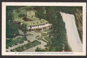 QC QUEBEC Hotel Kent House Montmorency Falls Postcard