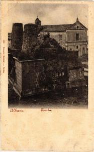 CPA ALBANO Tomba ITALY (545560)