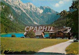Postcard Modern Malerisches Salzburger Land Jägersee 1050m in Kleinarltal im...
