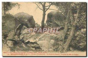 Old Postcard Ballancourt S and O tray Oudeuvile La Roche Fox