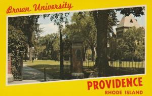 Providence RI, Rhode Island - Greetings from Brown University