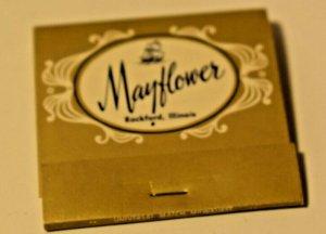 Mayflower Rockford Wisconsin 30 Strike Matchbook