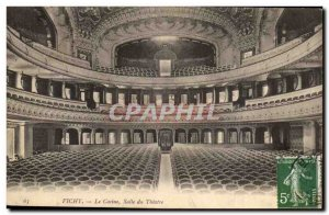Old Postcard Vichy The casino hall theater
