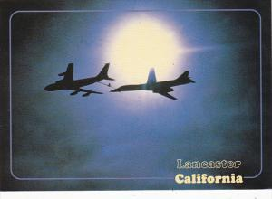 Jet To Jet Refueling Over Lancaster California