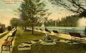 PA - Reading. City Park, Reservoir