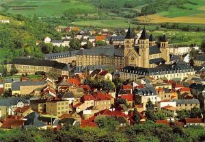 Luxembourg Echternach Panorama with Basilica General view Basilique