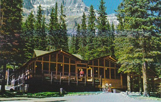 Canada Moraine Lake Lodge Lake Louise Alberta Hippostcard