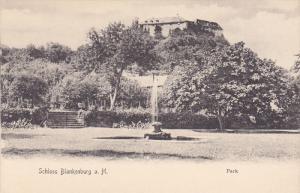 Schloss Blankenburg a. H., Park, BLANKENBURG, Germany, 1900-1910s