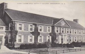 North Carolina Greensboro Carrie Barge Hall Bennett College Artvue