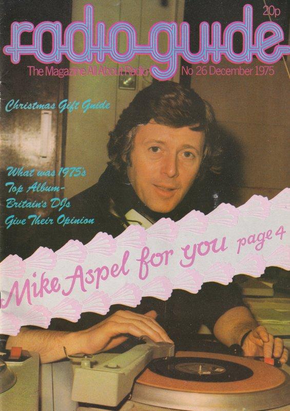 Mike Michael Aspel Radio 1 DJ Dee Jay 1975 Magazine