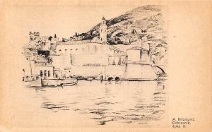 Croatia A. Krizmanic Dubrovnik Luka II