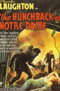 The Hunchback Of Notre Dame Charles Laughton Film Spanish Cinema Poster Postcard