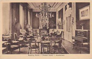 Reading Room , Doelen Hotel , Amsterdam , Netherlands, 00-10s