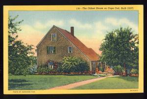 Sandwich, Mass/MA Postcard, Old Hoxie House, Cape Cod