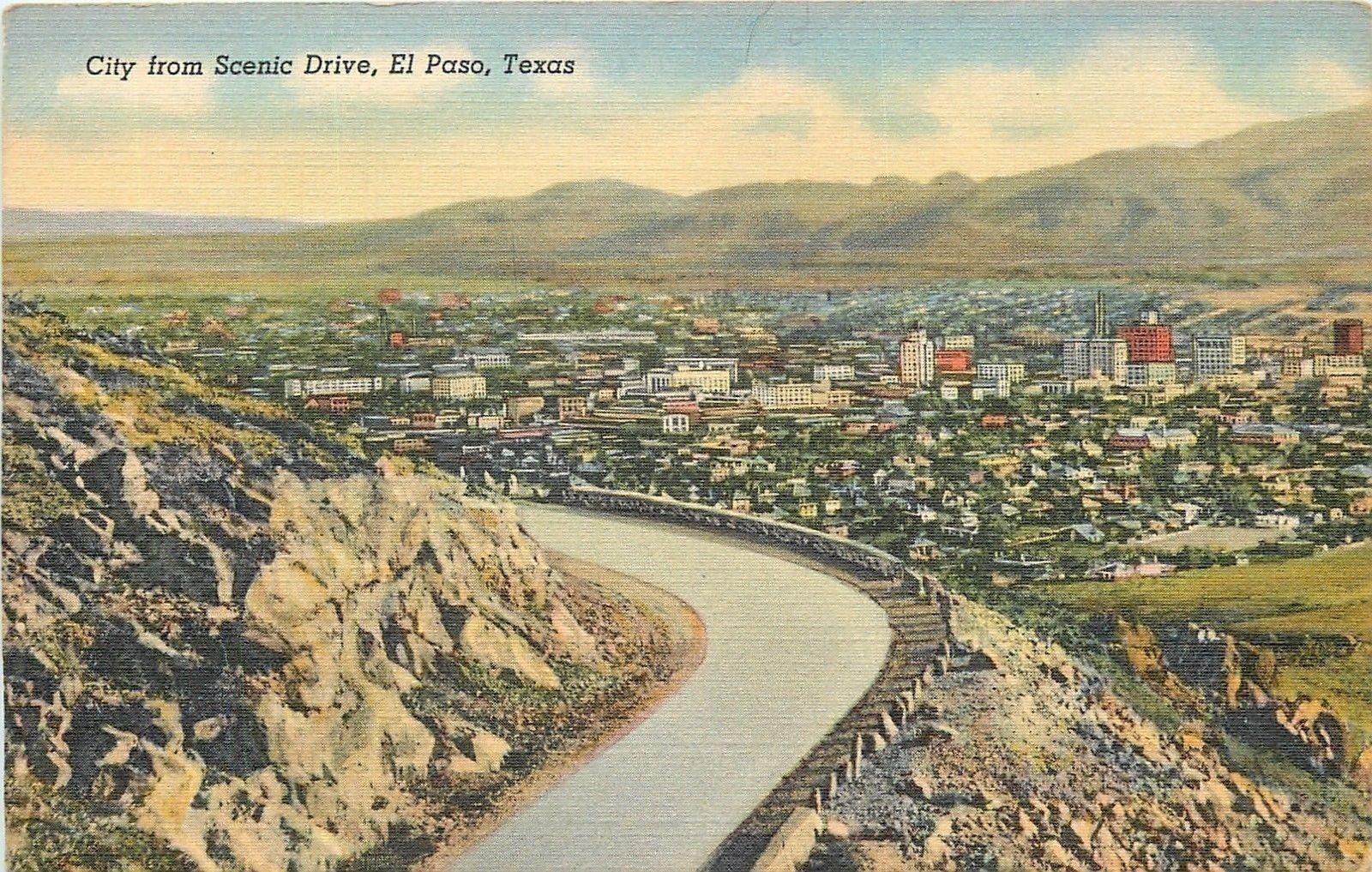 el paso texas highway overlook city