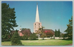 New Castle Delaware~Immanuel Church Building~Standard Chrome Postcard