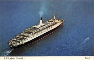 8884 R.M.S. Queen Elizabeth 2  Cunard Line