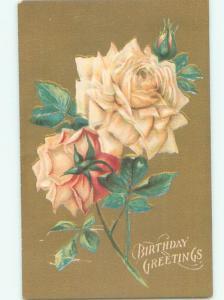 Divided-Back BEAUTIFUL FLOWERS SCENE Great Postcard AA4124
