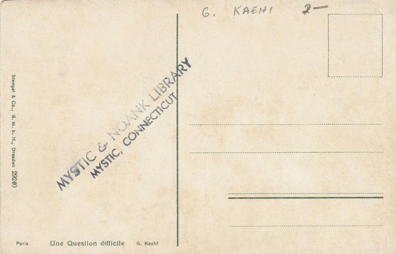 G. KAEHI: Une Question difficile , 2 Dutch Women , 00-10s