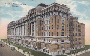 Exterior, New Cook County Hospital, Chicago,Illinois,PU-1914