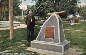 Iowa Sioux City Scene In Children's Park 1908
