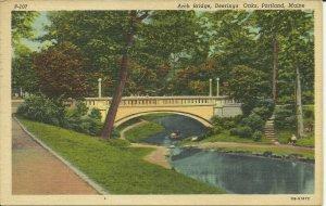 Portland, Maine, Deering Oaks, Arch Bridge