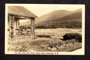 NH Mts view Ravine House RANDOLPH New Hampshire Real Photo Postcard RPPC RP PC