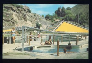 Lava Hot Springs, Idaho/ID Postcard, Mineral Baths, Lava Hot Springs Foundation