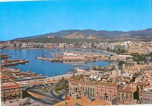 Vintage Postcard Aerial Puerto Rica Mexico # 1613