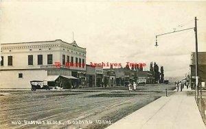 ID, Gooding, Idaho, RPPC, Business Block, Stores, Photo No 13