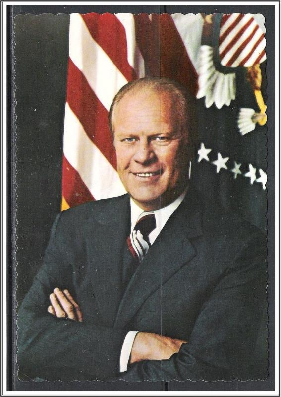 President Gerald R Ford Inaugurated 1974
