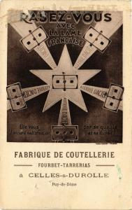CPA CELLES-sur-DUROLLE - Fabrique Coutellerie (72728)