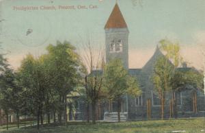 Presbyterain Church , Prescott , Ontario , Canada , 1909 ; Ver-3