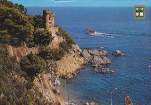 Chateau Lloret De Mar Costa Brava Spain
