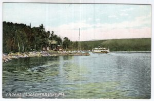 Moosehead Lake, Me, Capens