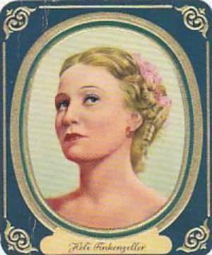 Aurelia German Vintage Cigarette Card Film Stars 1936 No 76 Heli Finkenzeller