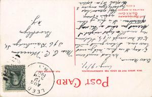In Rip Van Winkle Park, Catskill, New York, Early Postcard, Used in 1907