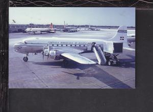 Dominican Airways Douglas DC-4 Postcard