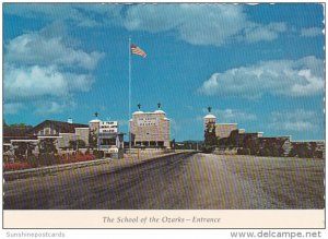 The School Of The Ozarks Entrance Point Lookout Missouri