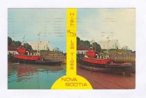 High and Low Tides, Nova Scotia, Canada,  PU-1967