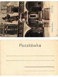 CPA AK KRAKOW Pomnik Kopernika POLAND (370365)