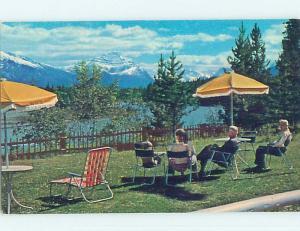 Unused Pre-1980 TOWN VIEW SCENE Jasper Alberta AB p7959