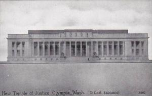 Washington Olympia New Temple Of Justice